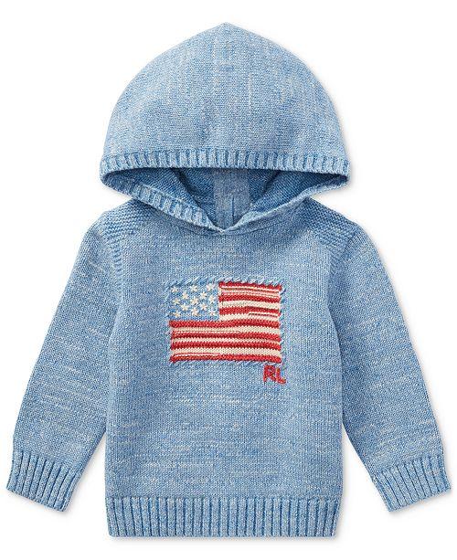 cb170fc1ea462 ... Polo Ralph Lauren Ralph Lauren American Flag Cotton Hoodie
