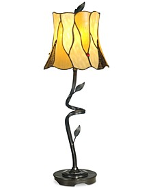 Twisted Leaf Lamp