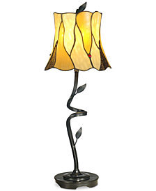 Dale Tiffany Twisted Leaf Lamp