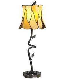 Dale Tiffany Twisted Leaf Lamp