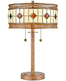 Dale Tiffany Minerals Table Lamp