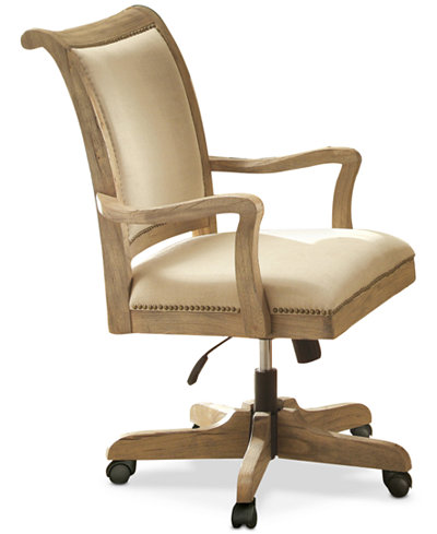 Brompton Home Office Upholstered Desk Chair