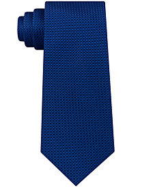 Sean John Men's Chain Link Texture Silk Tie