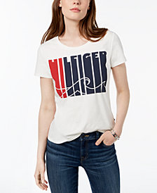 Tommy Hilfiger Logo-Graphic T-Shirt, Created for Macy's