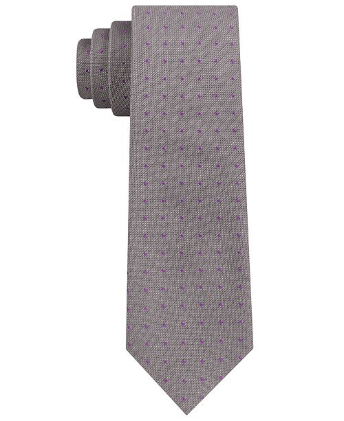 Calvin klein mens infinite modern dot skinny tie ties pocket main image ccuart Choice Image