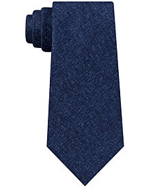 Kenneth Cole Reaction Men's Marble Solid Silk Tie