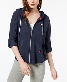 Tommy Hilfiger Sport Roll-Tab Sleeve Hoodie, Created for Macy's