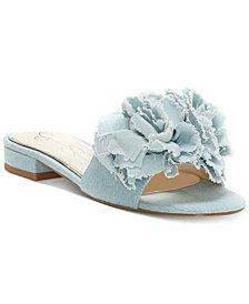Jessica Simpson Caralin Slide Flat Sandals