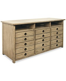 Ridgeway Home Office Entertainment File Cabinet