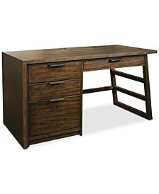 Ridgeway Home Office Single Pedestal Desk
