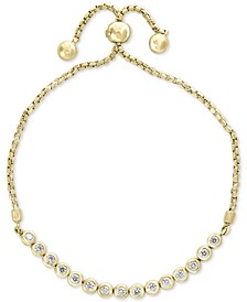 Bubbles by EFFY® Diamond Bezel Bolo Bracelet (5/8 ct. t.w.)