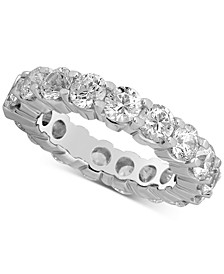 Diamond Eternity Band (5 ct. t.w.) in 14k White Gold