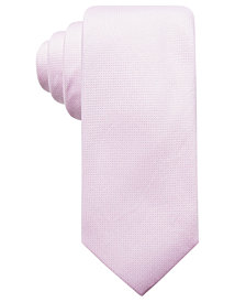Ryan Seacrest Distinction™ Men's Faretta Seasonal Solid Slim Tie, Created for Macy's