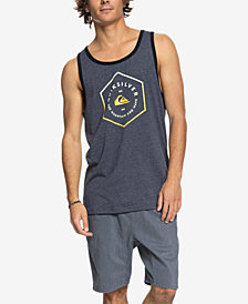 Quiksilver Men's Graphic-Print Tank Top