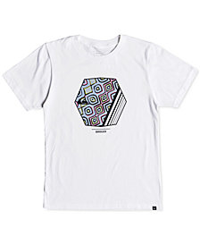 Quiksilver Big Boys Graphic-Print Cotton T-Shirt