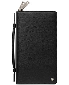 Montblanc Men's Black Westside Leather Travel Companion