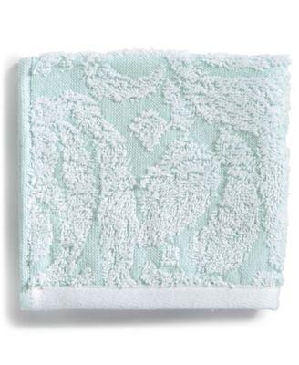 Sculpted Cotton Wash Towel
