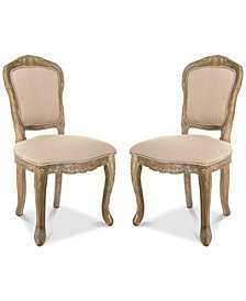 Foston Side Chair (Set Of 2), Quick Ship