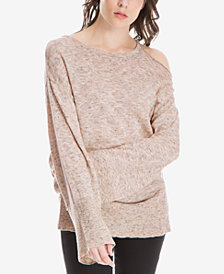 Max Studio London Cold-Shoulder Sweater, Created for Macy's