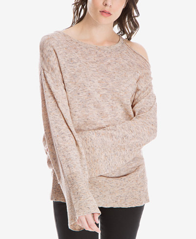 f91252a7ea9726 Max Studio London Cold-Shoulder Sweater