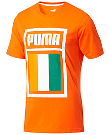 Puma Men's Forever Football Ivory Coast Soccer T-Shirt
