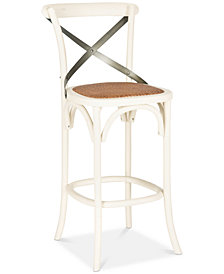 Gabel X-Back Bar Stool, Quick Ship