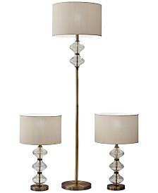 Eugene Set of 3 Lamps