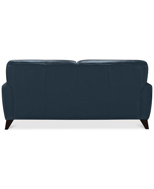 Terrific Myia 82 Leather Sofa Created For Macys Beatyapartments Chair Design Images Beatyapartmentscom