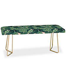 Deny Designs 83 Oranges Botany Bench