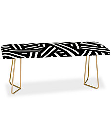 Deny Designs The Old Art Studio Monochrome Bench