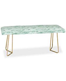 Deny Designs Jacqueline Maldonado Stratus Sage Bench