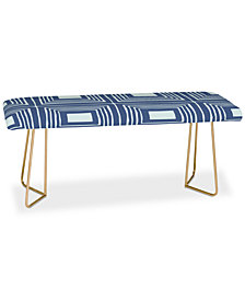 Deny Designs Natalie Baca Catalina Isle Blue Bench