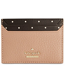 kate spade new york Blake Street Lynleigh Dotted Card Case