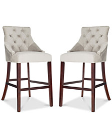 Folino Bar Stool (Set Of 2), Quick Ship