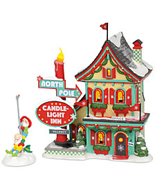 Department 56 Midyears North Pole Welcoming Christmas