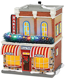 Department 56 Midyears Snow Village Main Street Bakery