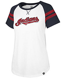 '47 Brand Women's Cleveland Indians Flyout T-Shirt