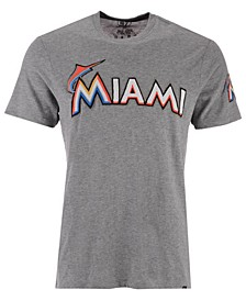 Men's Miami Marlins Fieldhouse Basic T-Shirt