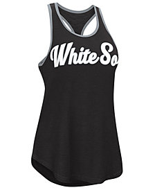 G-III Sports Women's Chicago White Sox Oversize Logo Tank