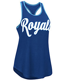 G-III Sports Women's Kansas City Royals Oversize Logo Tank