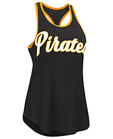 G-III Sports Women's Pittsburgh Pirates Oversize Logo Tank