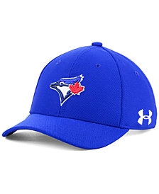 Under Armour Boys' Toronto Blue Jays Adjustable Blitzing Cap