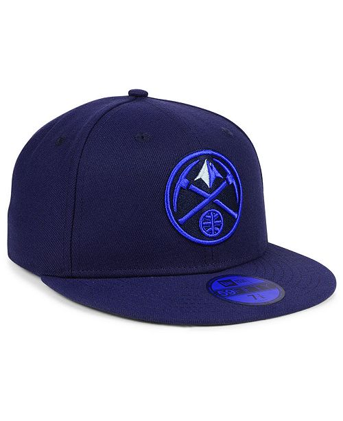 new arrival 72604 1efd2 ... wholesale new era. denver nuggets color prism pack 59fifty fitted cap.  be the first