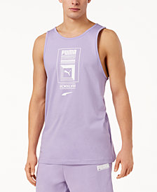 Puma Men's Logo Tower Tank Top