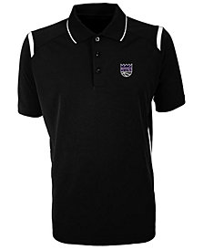 Antigua Men's Sacramento Kings Merit Polo Shirt