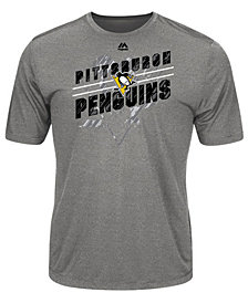 Majestic Men's Pittsburgh Penguins Drop Pass T-Shirt