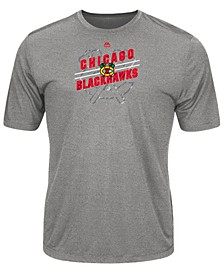 Men's Chicago Blackhawks Drop Pass T-Shirt