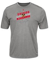 a0b28e48c Majestic Men s Chicago Blackhawks Drop Pass T-Shirt