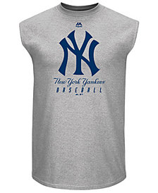 Majestic Men's New York Yankees Fundamental Sleeveless T-Shirt