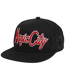 Mitchell & Ness Miami Heat Town Snapback Cap